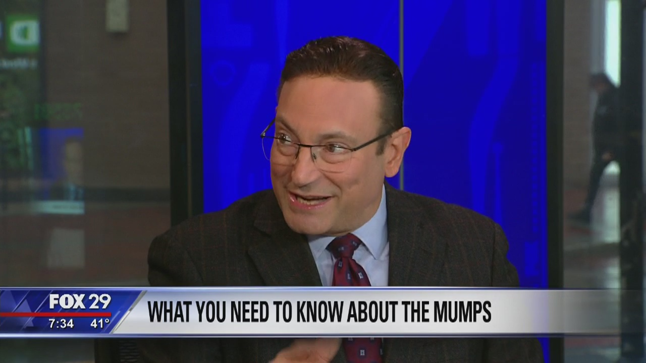 Dr. Mike has what you need to know about mumps