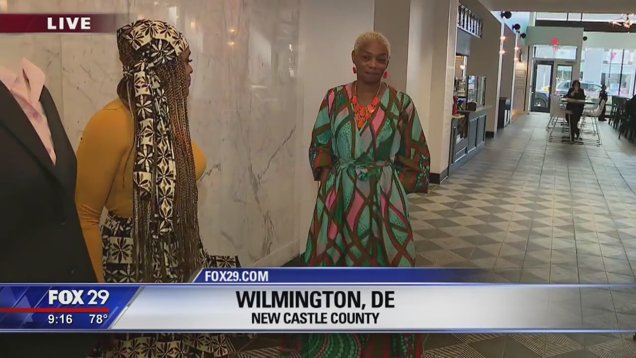 Town Takeover: Bob checks out some fashionable styles in Wilmington