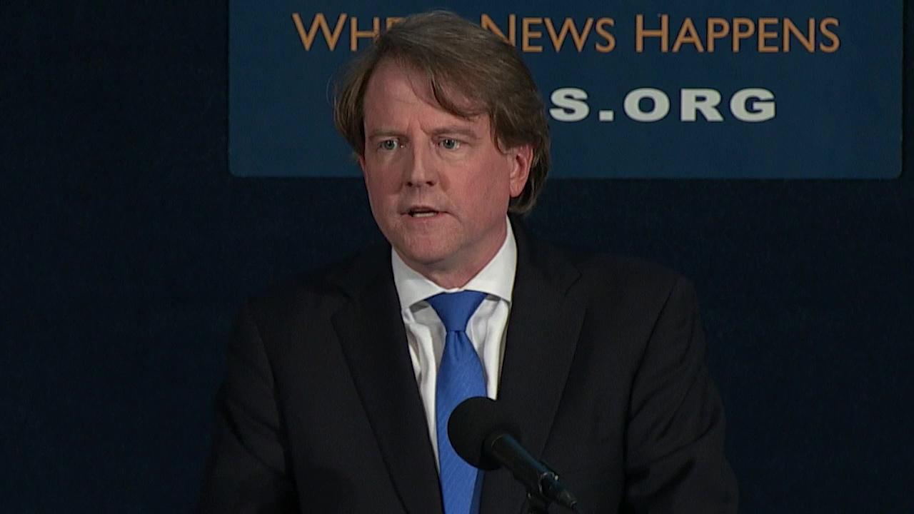 McGahn to skip hearing as Democrats debate next steps