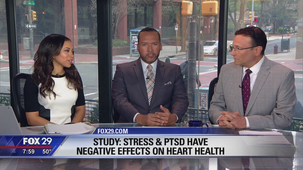 Dr. Mike on health benefits of smiling, how stress & PTSD effects heart health