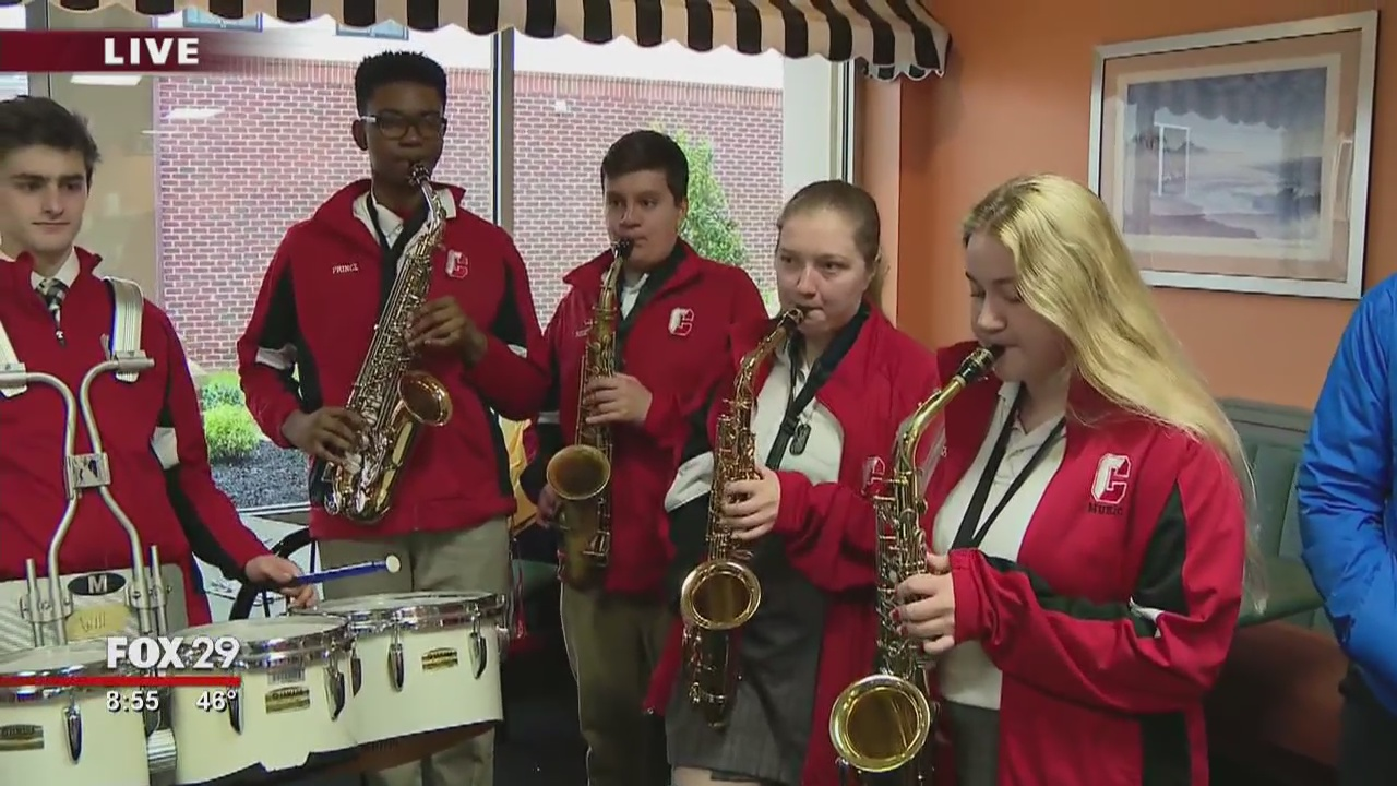 Town Takeover: Archbishop Carroll Band