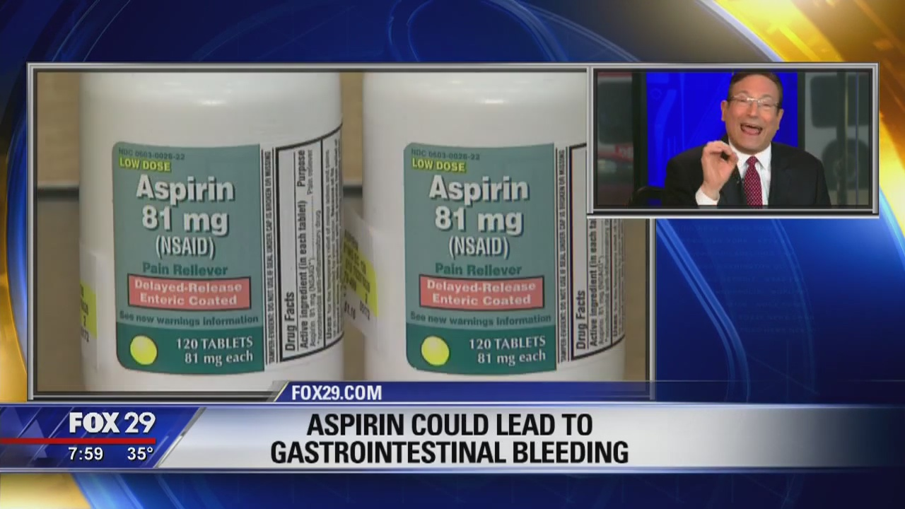 Your Health: Dr. Mike talks about new guidelines for aspirin
