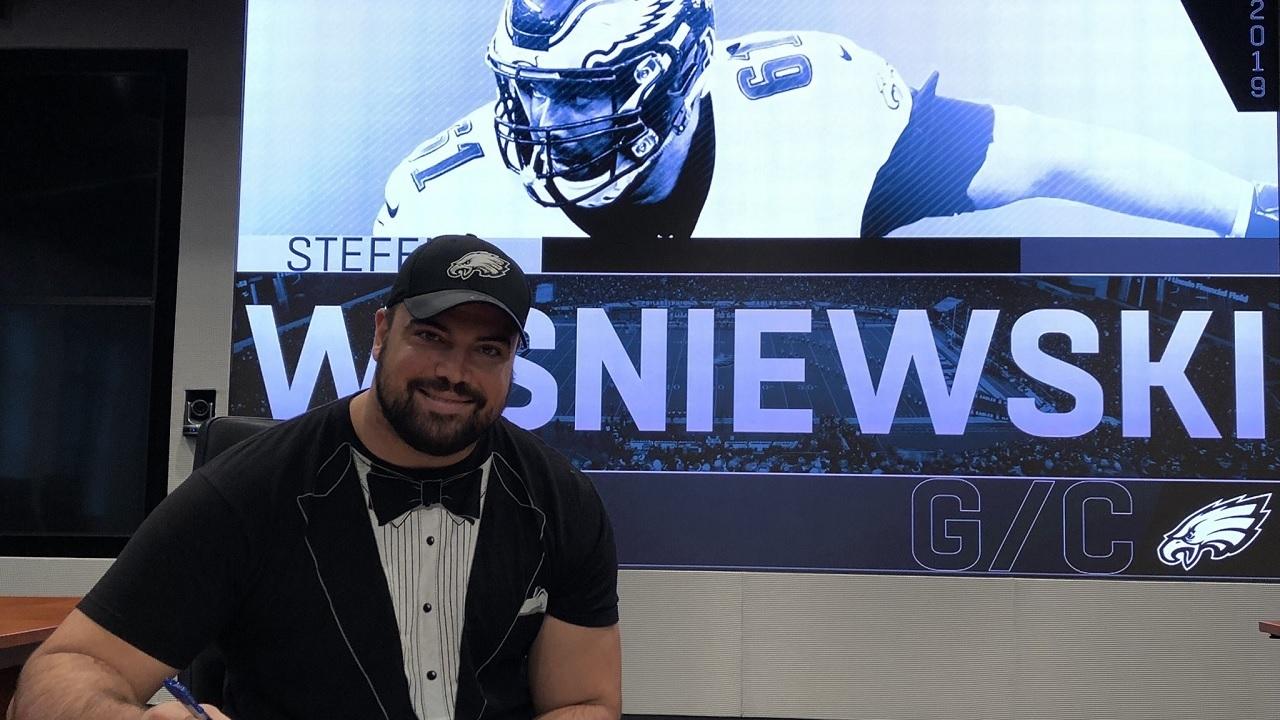 Eagles re-sign veteran OL Stefan Wisniewski