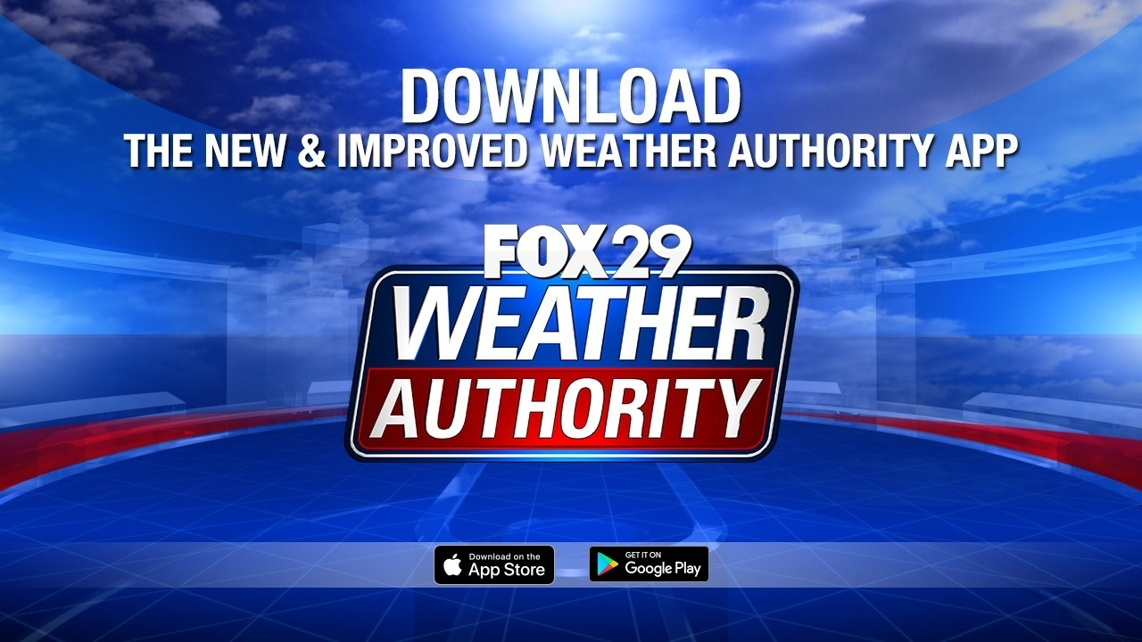 Download the FOX 29 Weather App