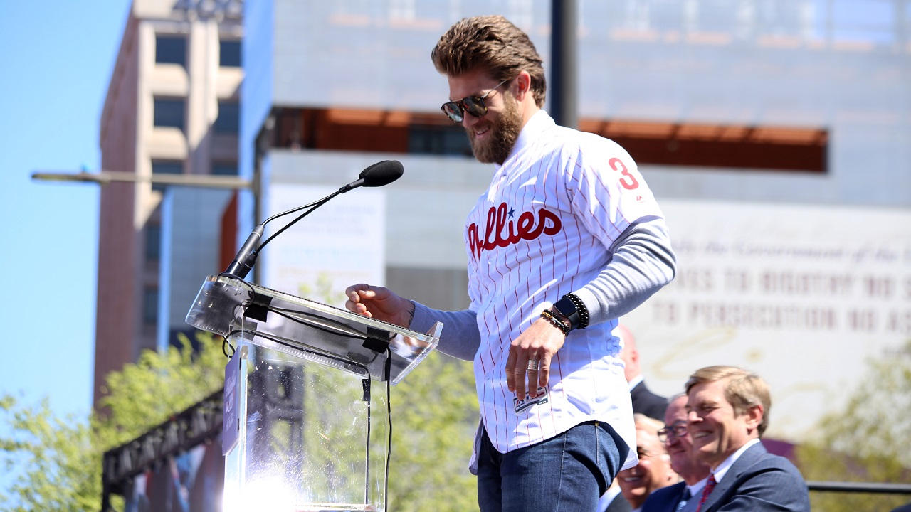 Bryce Harper has second most popular jersey in MLB