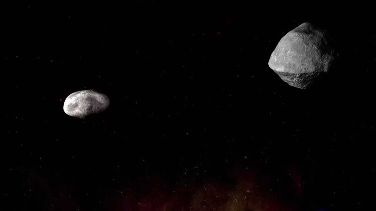 Nearly mile-wide asteroid with orbiting moon expected to pass by Earth