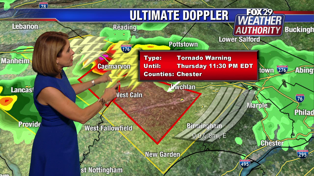 Tornado Warning for Chester County expires