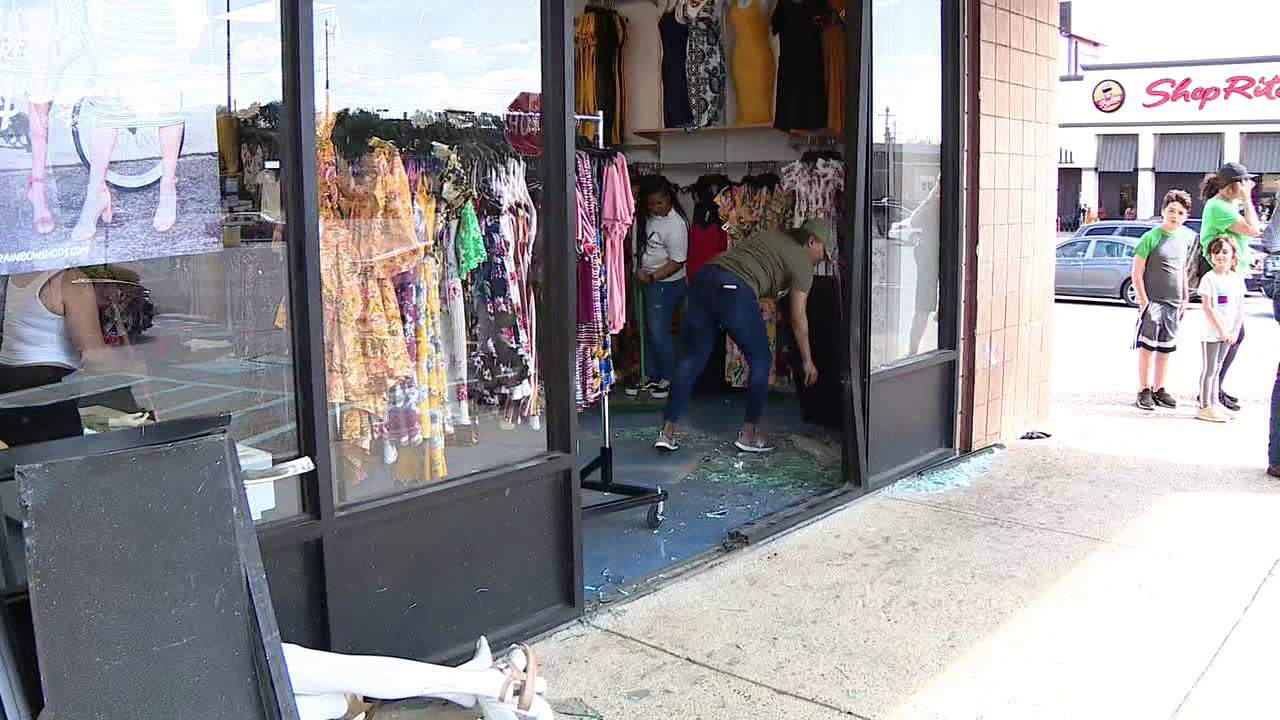 Police: Several injured after SUV crashes into South Philly store