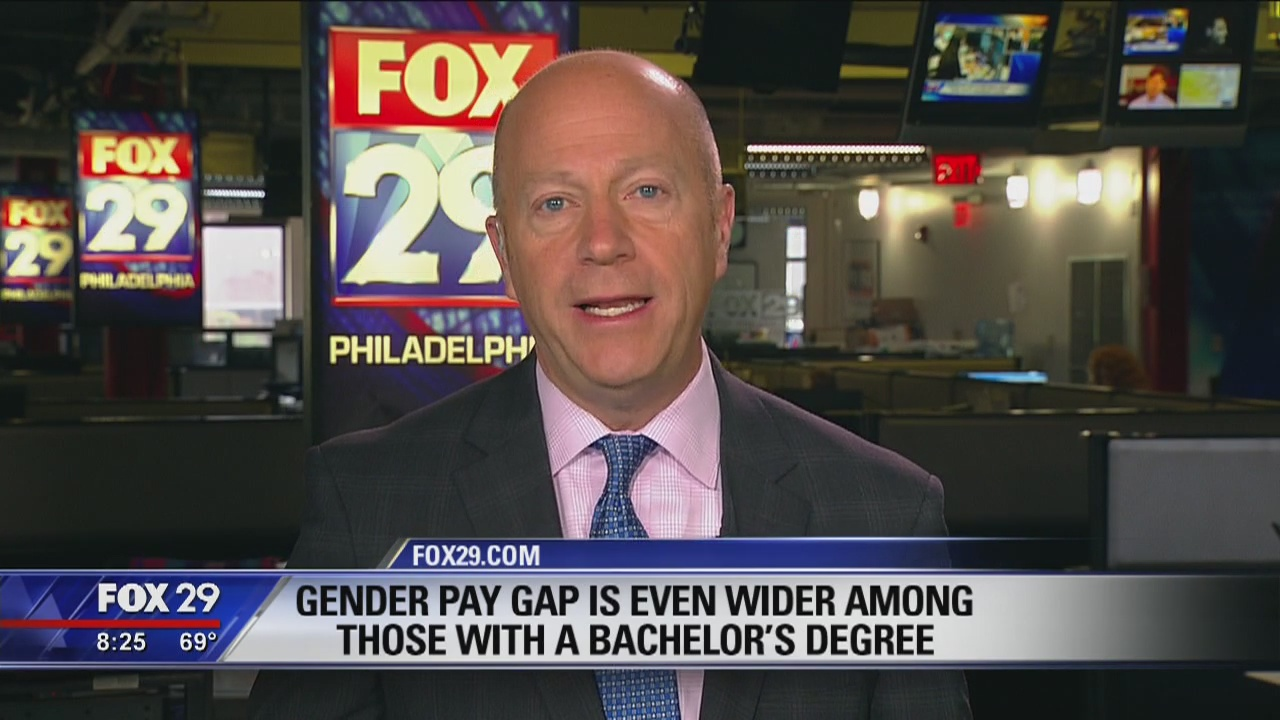 Cashing in: Gender pay gap wider among Bachelor's degree recipients