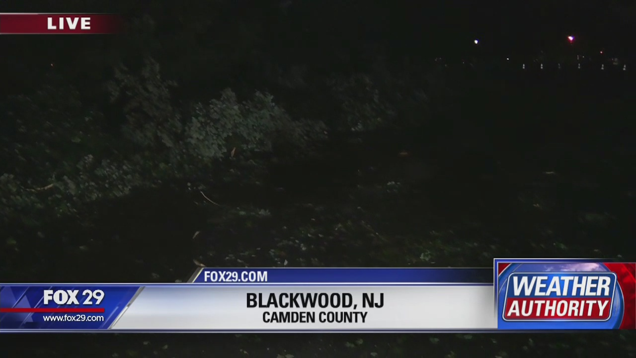 Blackwood, N J  storm damage update 11 pm | FOX 29 News