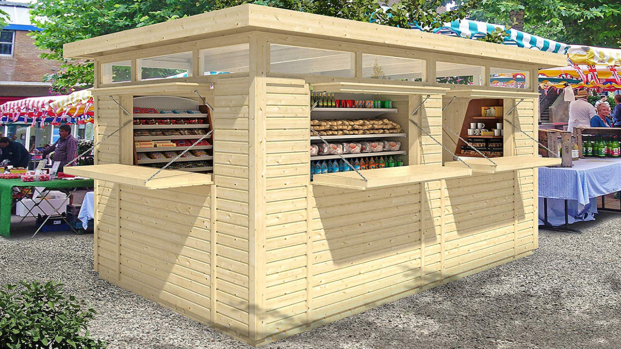 You can buy a DIY backyard bar on Amazon just in time for summer
