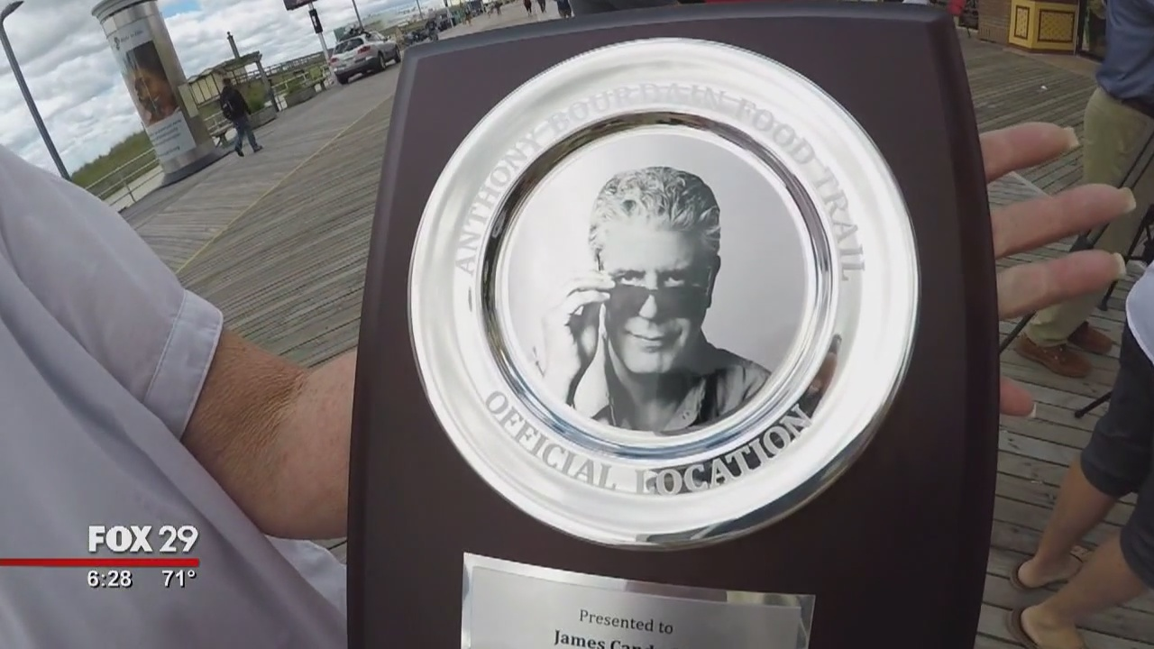 Hank's Take: Touring Anthony Bourdain's Food Trail in New Jersey
