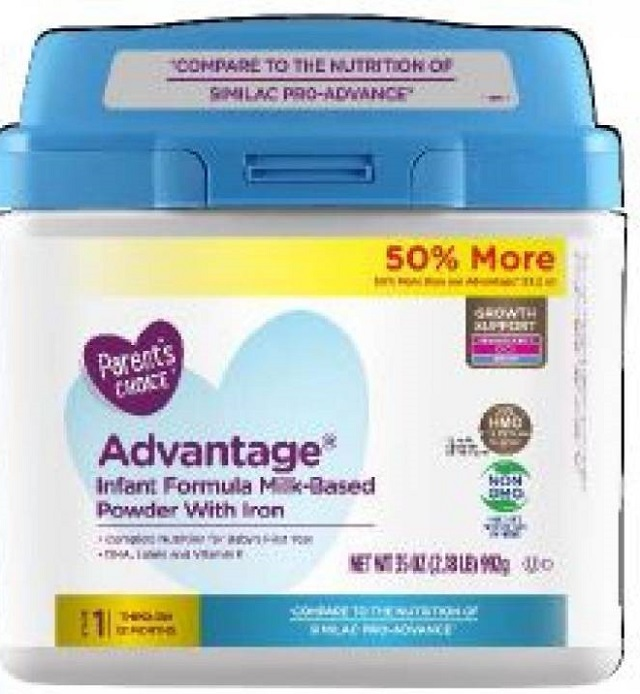 Perrigo recalling formula sold at Walmart due to potential metal presence
