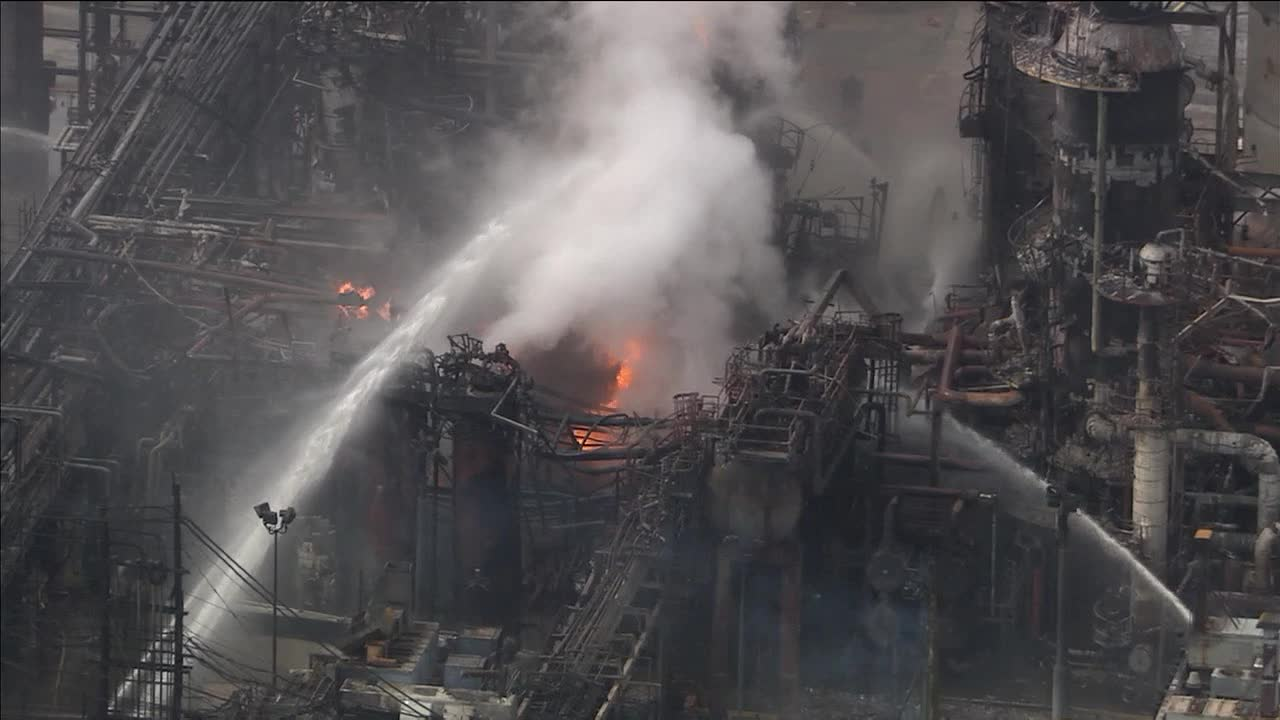 Refinery fire out, probe into cause of blaze to begin