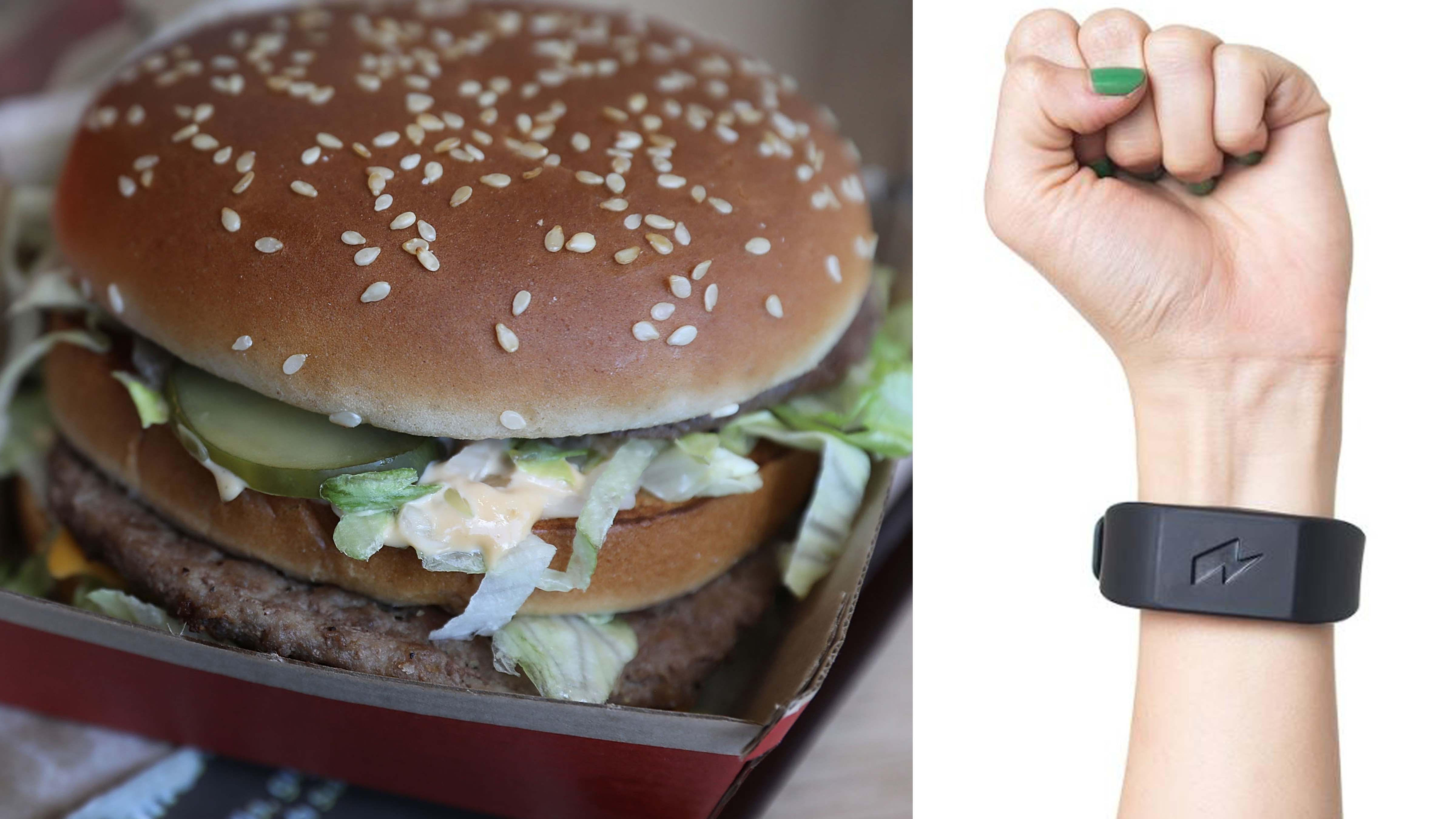 Pavlok wristband sends shock to help prevent bad habits