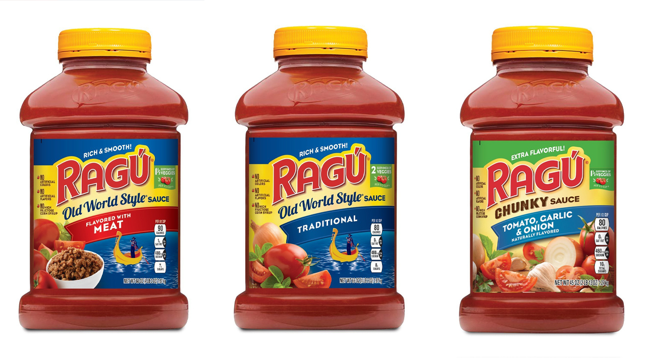Ragu pasta sauces recalled due to possible plastic fragments