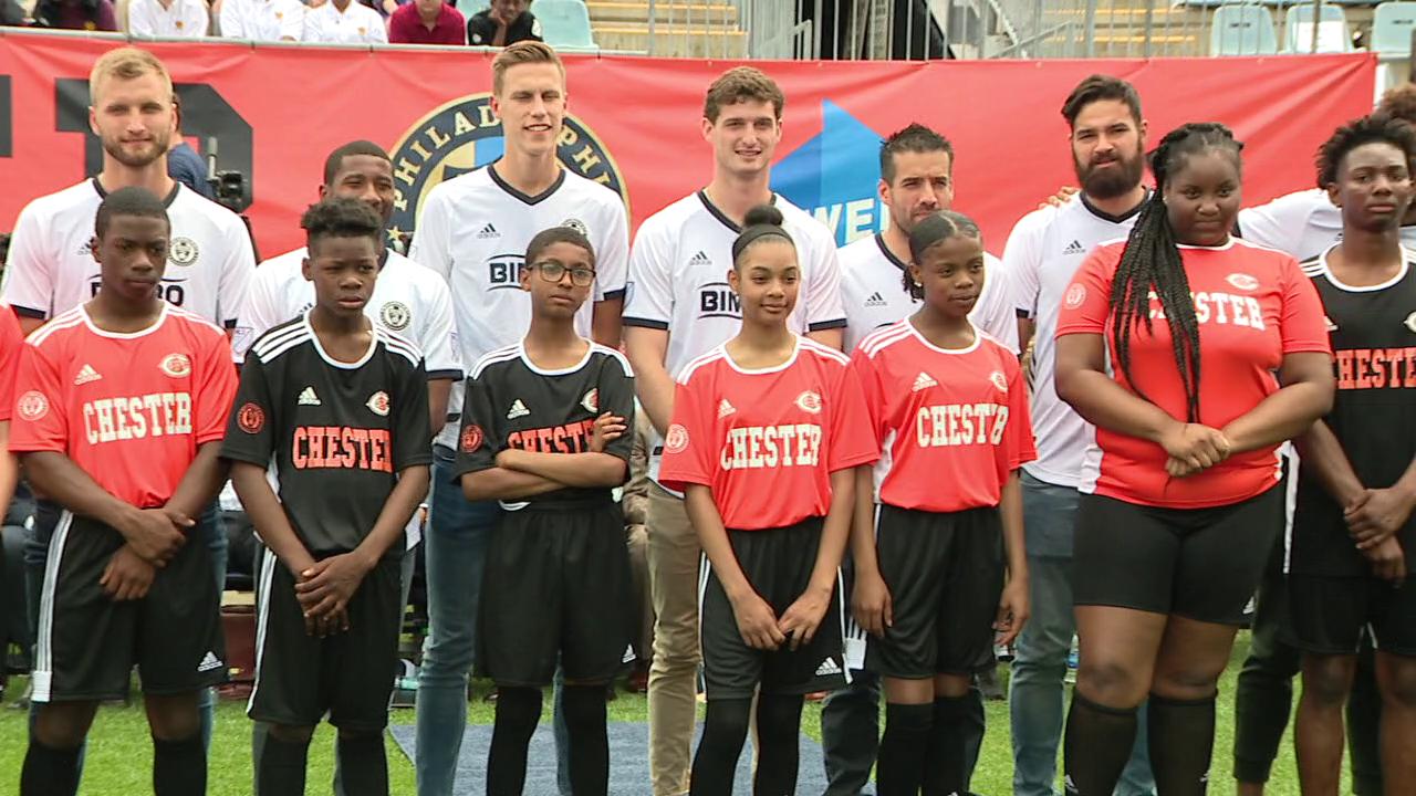Philadelphia Union partnership brings soccer back to Chester schools