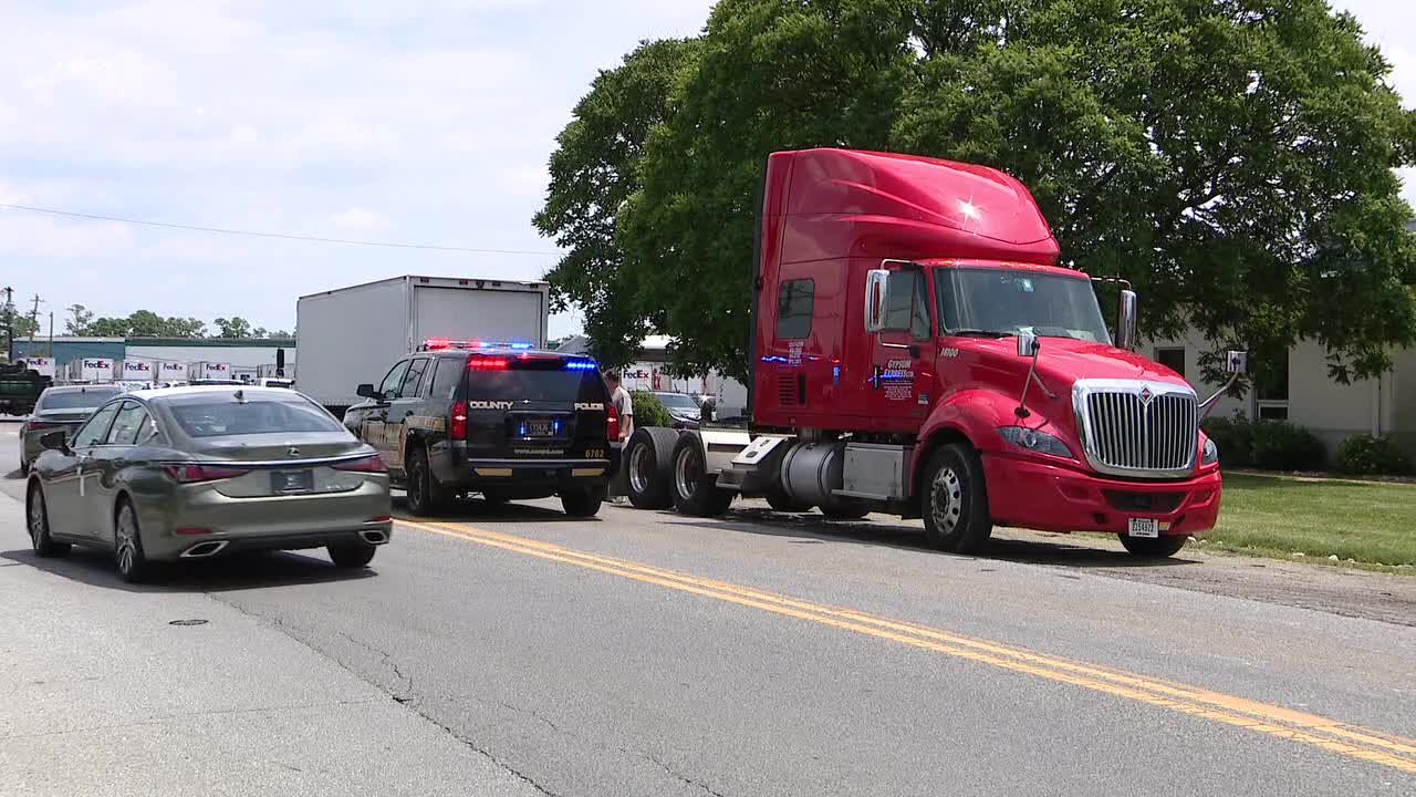 New Castle residents enraged with trucks using residential road as shortcut