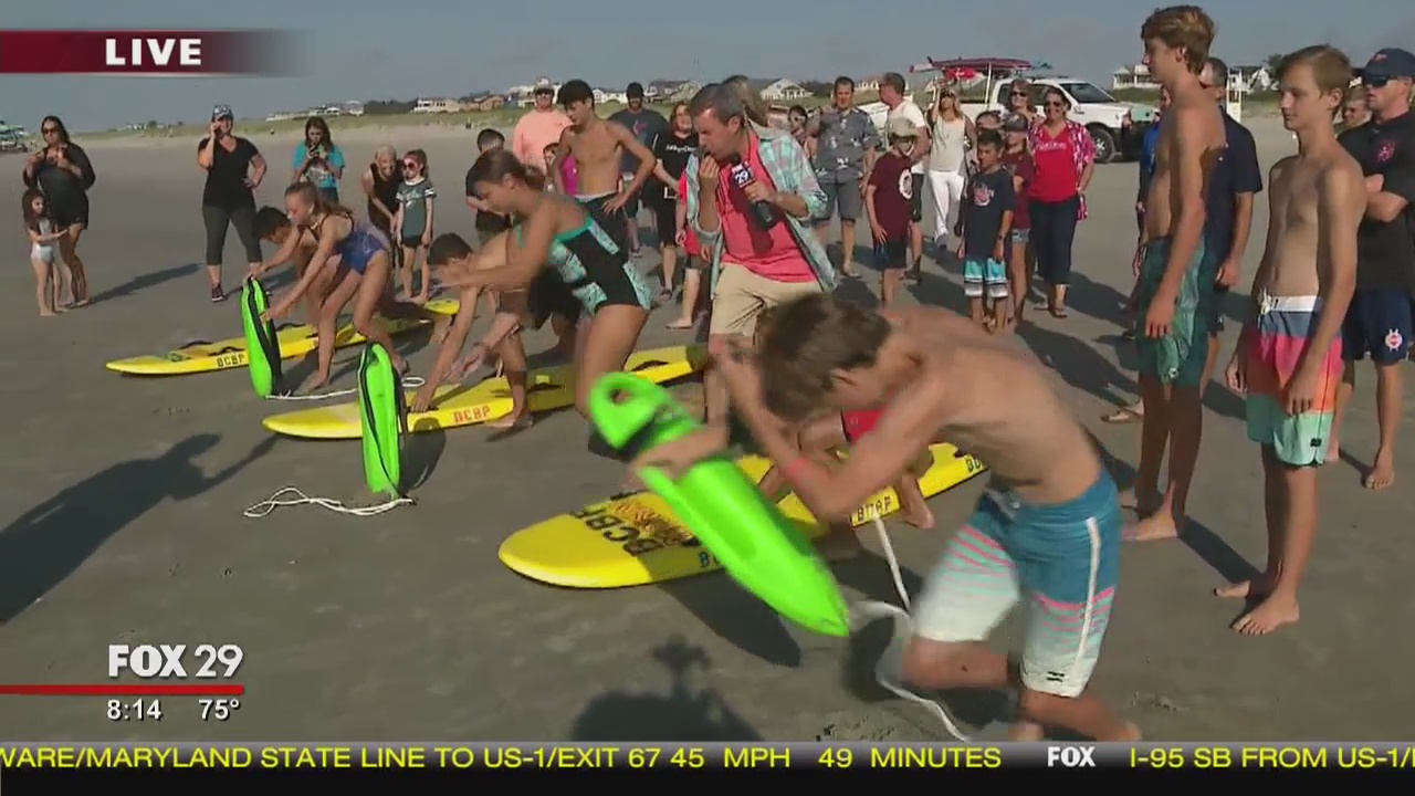 Town Takeover: Meet Brigantine's junior lifeguards