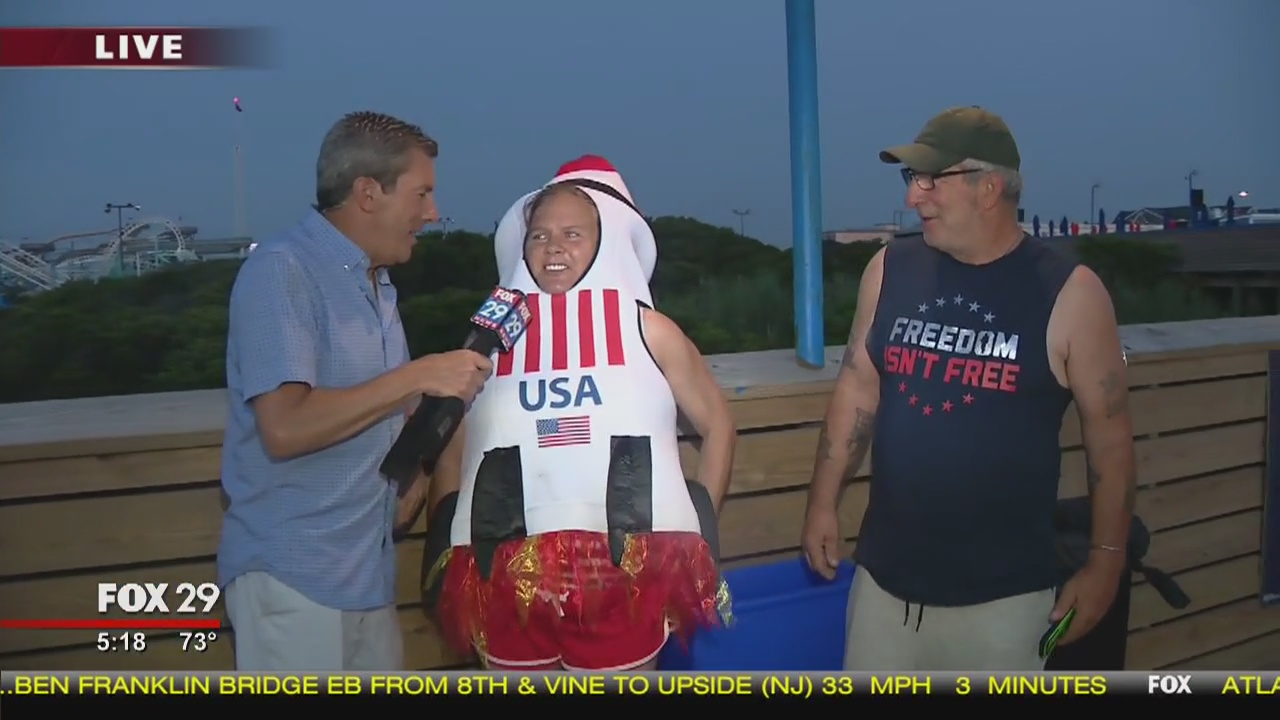 Town Takeover: Bob Kelly hits the boardwalk in North Wildwood