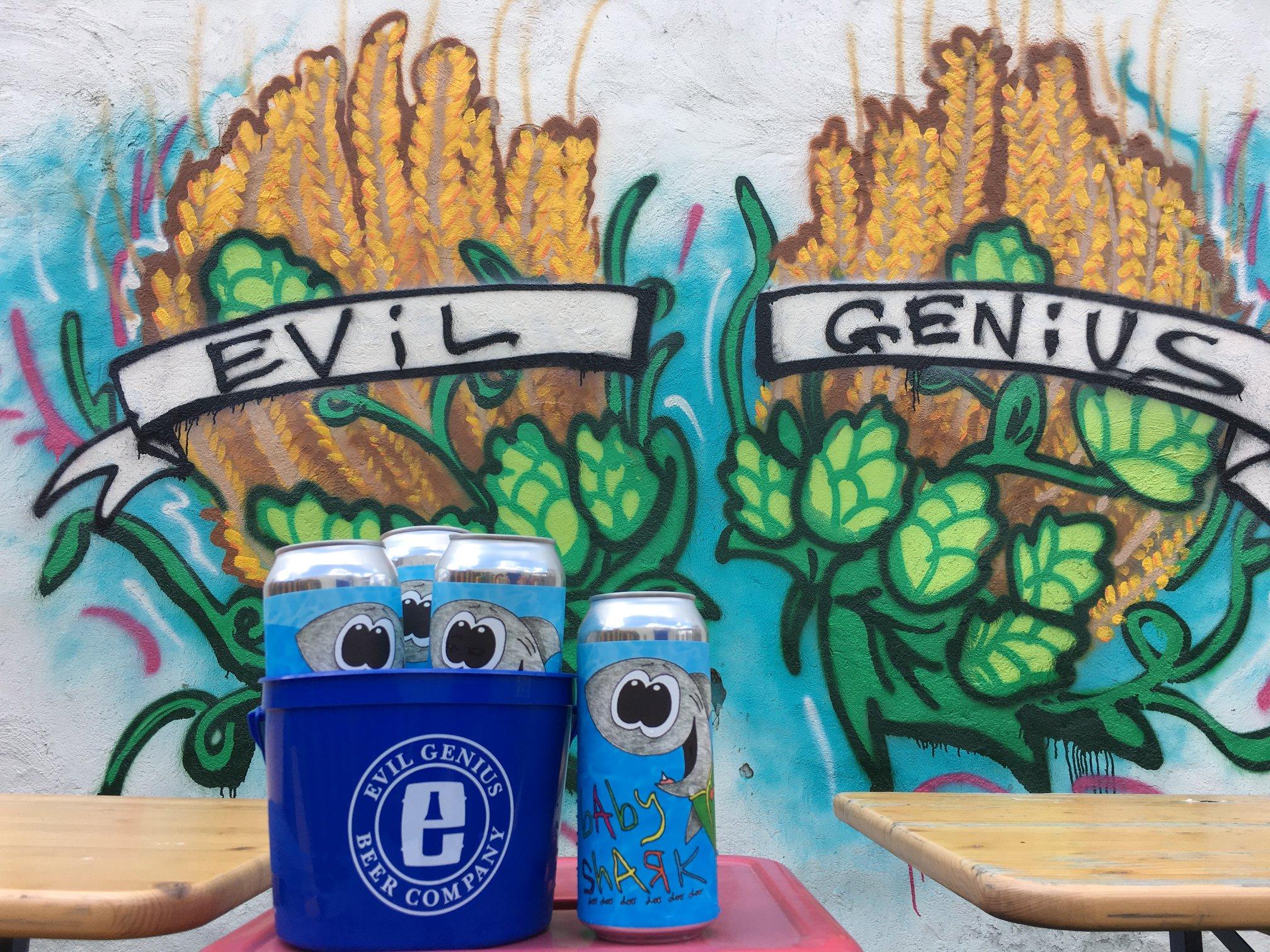 Evil Genius Beer Company introduce Baby Shark beer for Shark Week