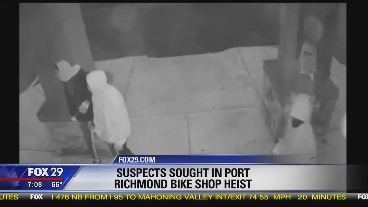 Suspects sought in Port Richmond bike shop heist | FOX 29