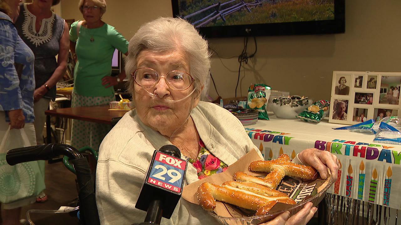 Haverford Township woman celebrates 104th birthday