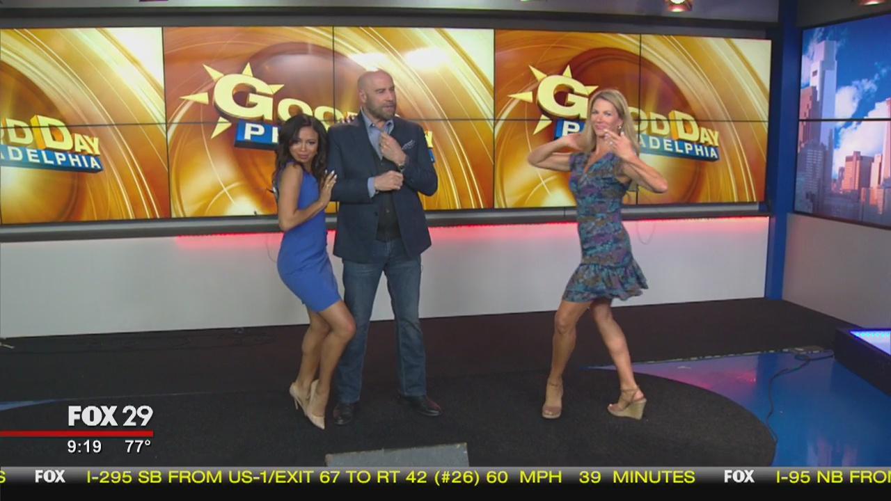 Good Day hits the dance floor with John Travolta! | FOX 29