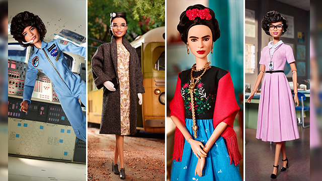 Barbie introduces Rosa Parks, Frida Kahlo dolls to honor historic women