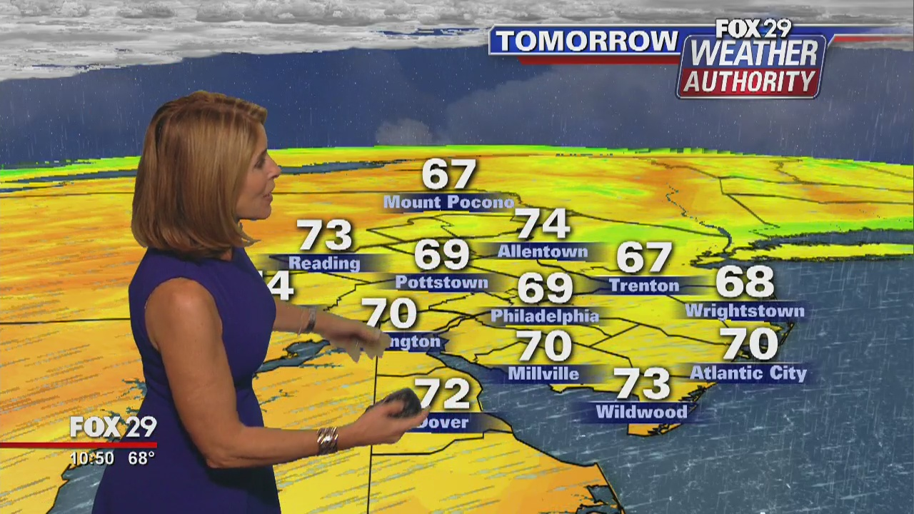 FOX 29 Weather Authority: 7-Day Forecast (Thursday update
