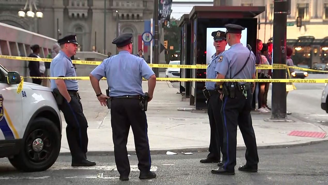 Man, 48, stabbed in Center City; suspect sought
