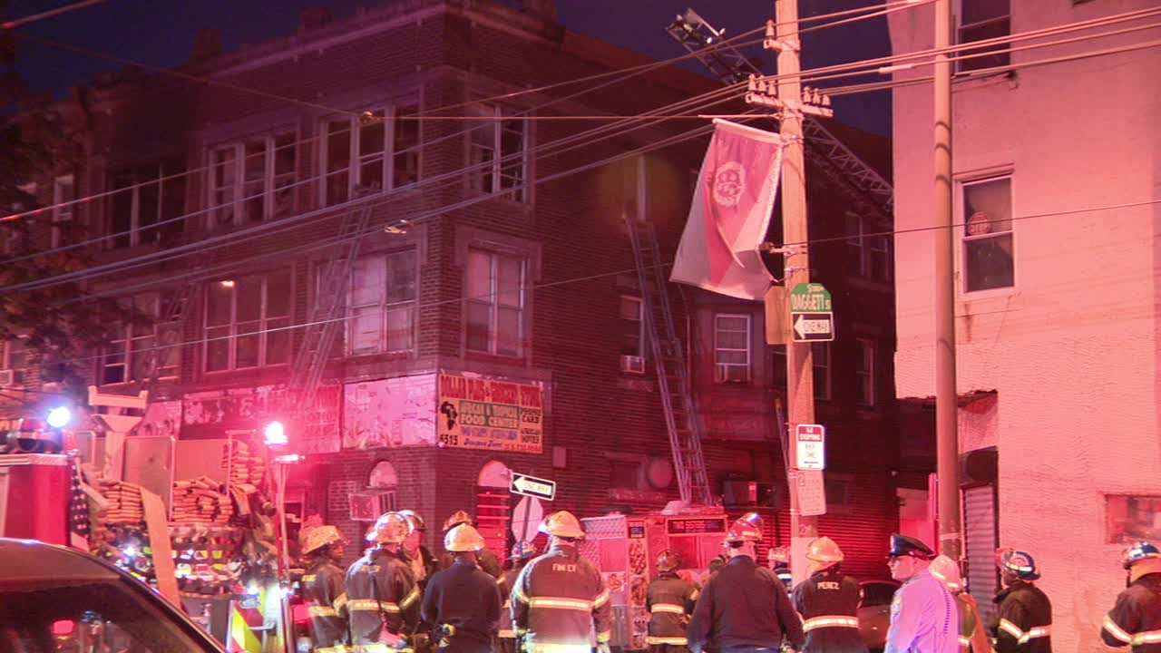 1 dead, 1 critical after apartment fire in Southwest Philadelphia