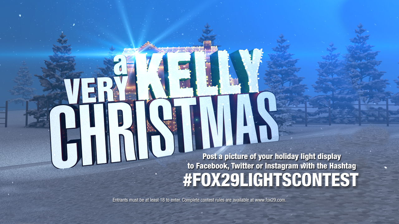 A Very Kelly Christmas Lights Contest