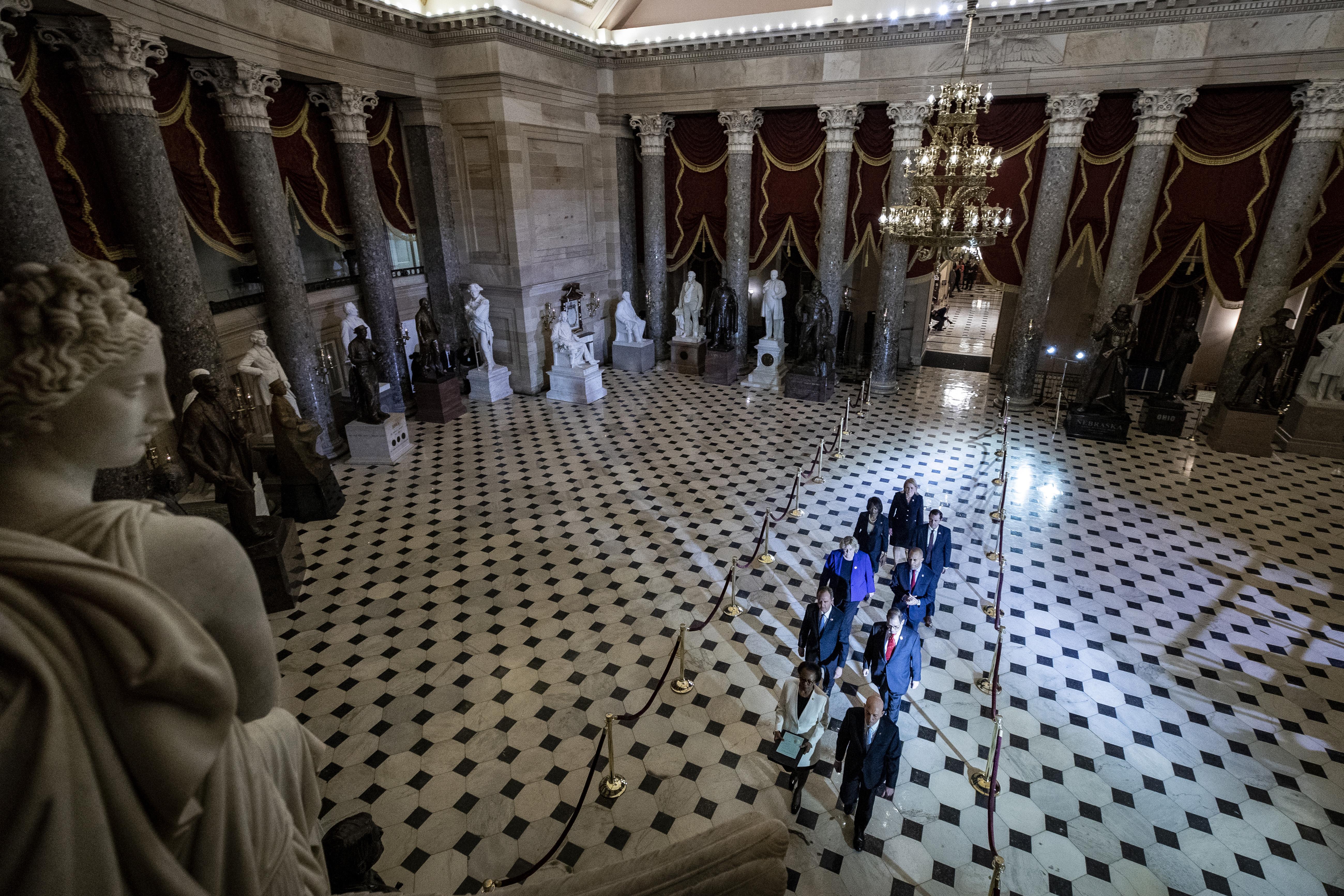 House Sends Trump Impeachment To Senate Trial To Follow
