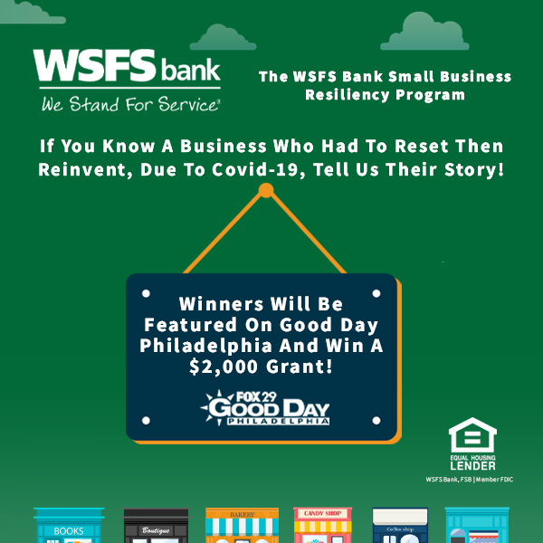 WSFS Bank Small Business Resiliency Program Contest